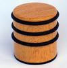 wooden texture door stopper