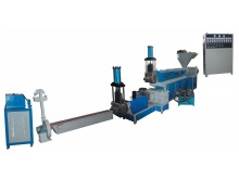 Plastic extruder machine for plastic recycling