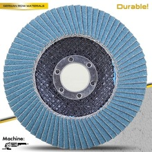 T27 5'' 125x22mm zircon abrasive disc for stainless steel with MPA EN 12413