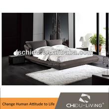 fashion bedroom furniture set, fabric bedroom set, foshan bedroom furniture B6130