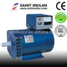 AC Three Phase Output STC Brushes AC Alternator 10KW