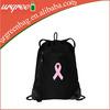 Hot Selling Black Velvet Backpack Drawstring Bag