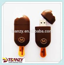 Customized ice-lolly shape USB flash drive/Ice cream shape usb flash drive