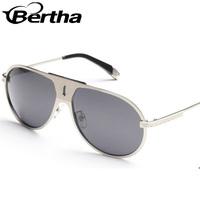 Bertha New Product Restoring Ancient Ways Mens Sunglasses S103 Silver Frame
