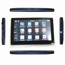 5 inch touch screen auto gps navigate system with multimedia player