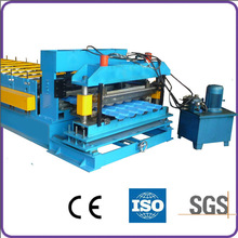 metal roof tile roll forming press machine