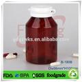 La píldora de plástico tarro, contenedores de productos farmacéuticos, cuadrados de plástico/ronda de botella de la medicina