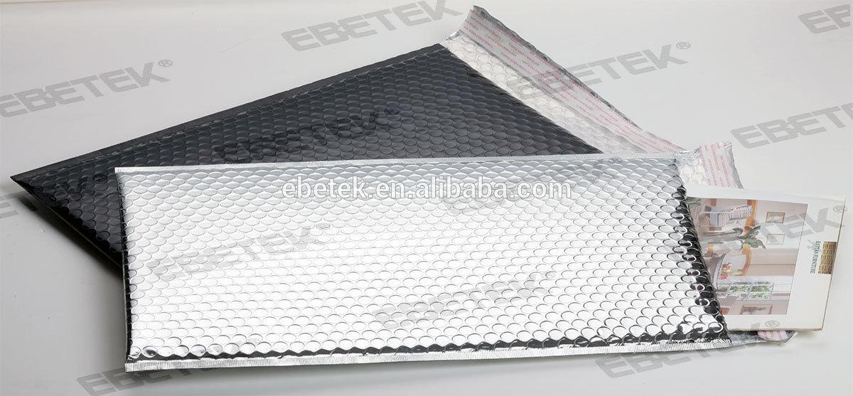 Black Bubble Wrap Bubble Wrap Aluminum Foil Bag