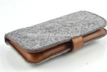 Fashional Wool Felt Phone Cases &Felt Cell Phone Bags &Felt cell phone wallet