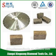 Asphalt cut diamond core bit saw blade segments