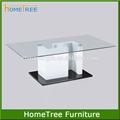 design moderno de vidro mesa de centro em madeira mesas de vidro