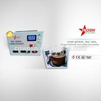 CE ROHS single phase 220VAC 1500VA automatic new era voltage regulator
