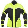 Mens cheap high reflective yellow Enduro Armor Motorcycle Jacket