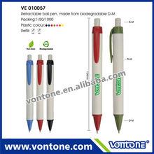 Environment-Friendly Plastic Biodegradable Ball Pen