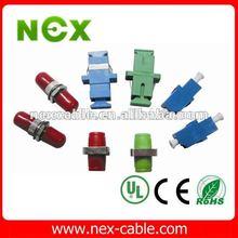 E2000/APC fiber adaptor with ceramic sleeve and Rohs housing