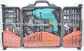 Cf-dl126810 126 pcs taladro del impacto, taladro eléctrico set, el poder y la herramienta de perforación set