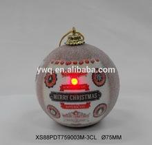 LED LIGHT hot sale fashion Golden foam christmas decorative balls