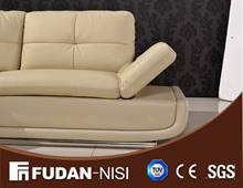 nicoletti furniture corner leather sofa FM079