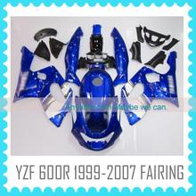 For YAMAHA YZF600R 1999 2000 2001 2002 2003 2004 2005 2006 2007 fairing kiy body work motorcycle body kit