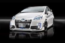 Bodykit For Prius ZVW30 RR-GT T style fiber glass bodykit