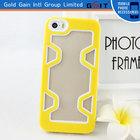 Fresh Lemon tpu+pc Bumper Case For iPhone 5G