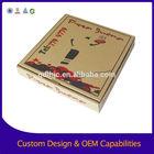 Cardboard box 3-Layer E-Flute Flexo Wholesale pizza box