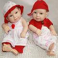 Jouet d'enfant 2014 12' poupée bébé reborn mini poupées de silicone bon marché pour la vente