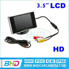 3.5 inch Rearview Radar Car Reversing Rearview Mirror TFT LCD Monitor