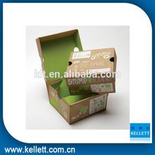 2014 good selling, natural kraft paper packaging box