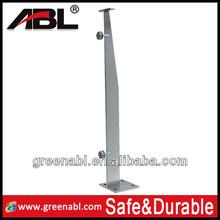 2014 populaire. 304/316 en acier inoxydable balustrade main courante pour escalier