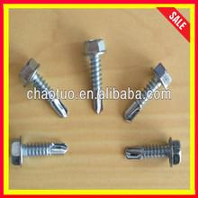 Proveedor de bajo precio de fábrica de cabeza hexagonal tornillos autocares/de cabeza hexagonal tornillos sems