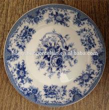 custom printed ceramic dinner plate,ceramic dishes plate , printing ceramic plates dishes