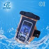 hot waterproof dry floating mobile phone neck hanging handmade mobile phone bag cellphone pouch
