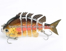 Good swim action minnow lure fishing lure swim bait