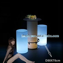 Festival And Party Supplies H75cm Plastic Led Column Stool