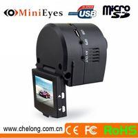 2014 Newest Hidden 1.5 Inch 130deg GPS External G-sensor Support Webcam 120 degree viewing angle car dvr