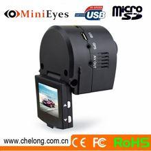 2014 Newest Hidden 1.5 Inch 130deg GPS External G-sensor Support Webcam motion activated hd 720p mini car dvr