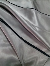 280cm 2.8m 110/112'' blackout curtain fabric two side shiny