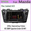 for mazda premacy gps tv radio bluetooth wifi 3G 8 inch for 2012 2011 2010 2009 tontek