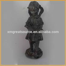 beautiful girl resin angel figurine for home decor polyresin angel