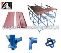 Compelete set concrete slab roof formwork scaffolding system