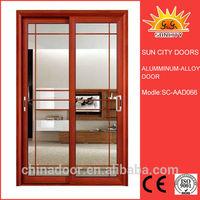 Aluminum folding lotus doors design cheapest price hot sale SC-AAD066