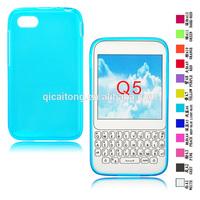Soft Clear Transparent Tpu Case For BlackBerry Q5