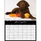 embossed brochure printing wall calendar printing