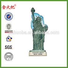 resina estatua de la libertad de nevera imán de recuerdos