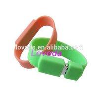 High quality free sample low price promotion silicone bracelet usb 3.0/ usb flash drive no housing/adata usb flash drive LFN-216