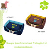 Durable Canvas Pet Dog Beds with Detachable Cushion