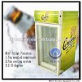 Porta de vidro LG Shunde contador Top com chave frigorífico com mesa de luz 80 litros