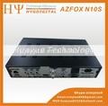 ( modelo caliente) nagra3 azfox n10 s decodificador satelital, satélite nagra3 azfox n10s para américa del sur