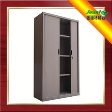 Best selling Guangzhou factory Canton steel office furniture adjustable file cabinet metal 2-door wooden file cabinet